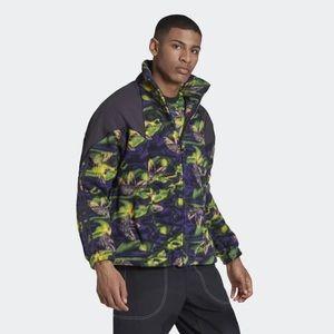 Adidas Big Trefoil Printed Polar Fleece Full Zip